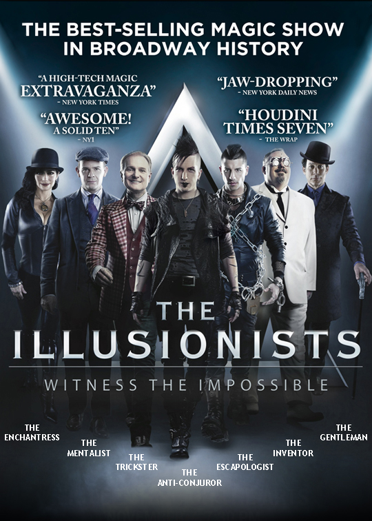 Poster 01-The illusionists